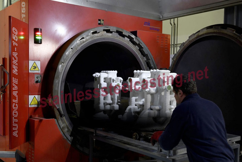 Stainless Steel Investment Casting Process-Dewaxing
