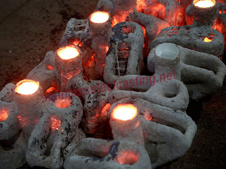 Stainless Steel Investment Casting Process-Pouring