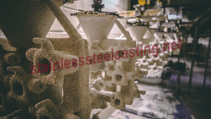 Stainless Steel Investment Casting Process-Shell Building
