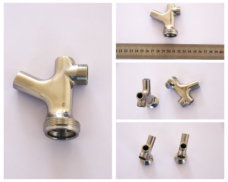 Stainless Steel Casting and Machining of Beer Faucet Body