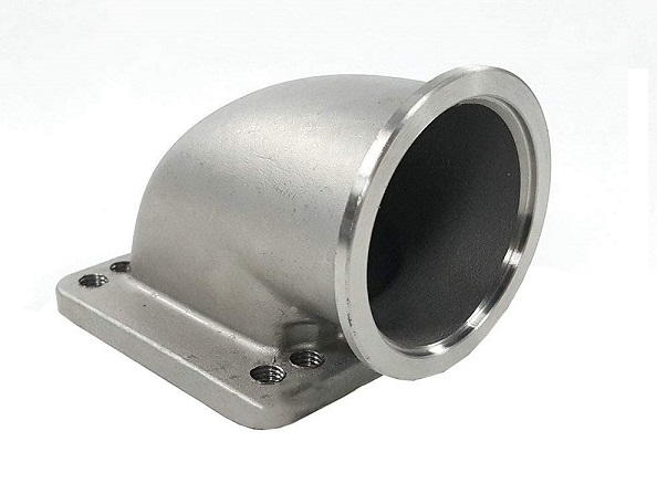 Stainless Steel Casting for Turbo Elbow Adapter Flange
