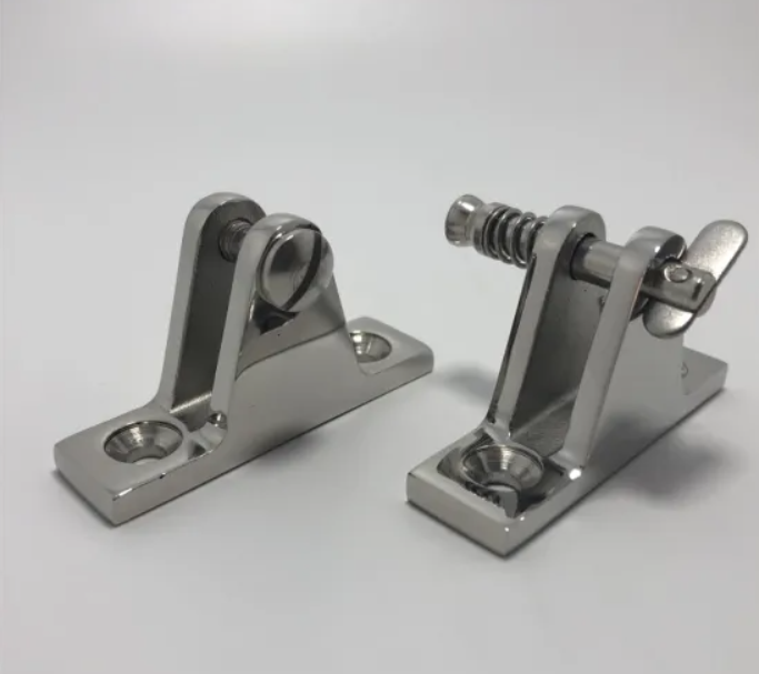 Stainless Steel Casting of Marine Boat Deck Hinge