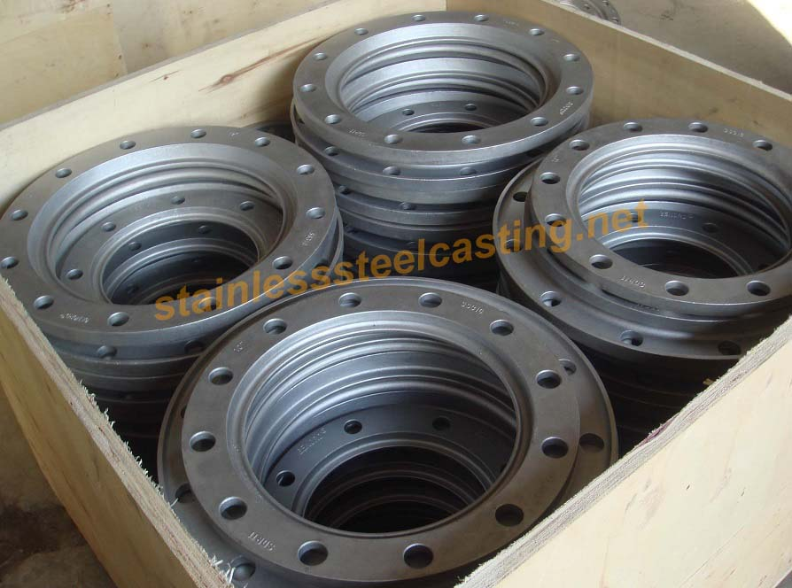 Cast Stainless Steel Back-Up Flanges