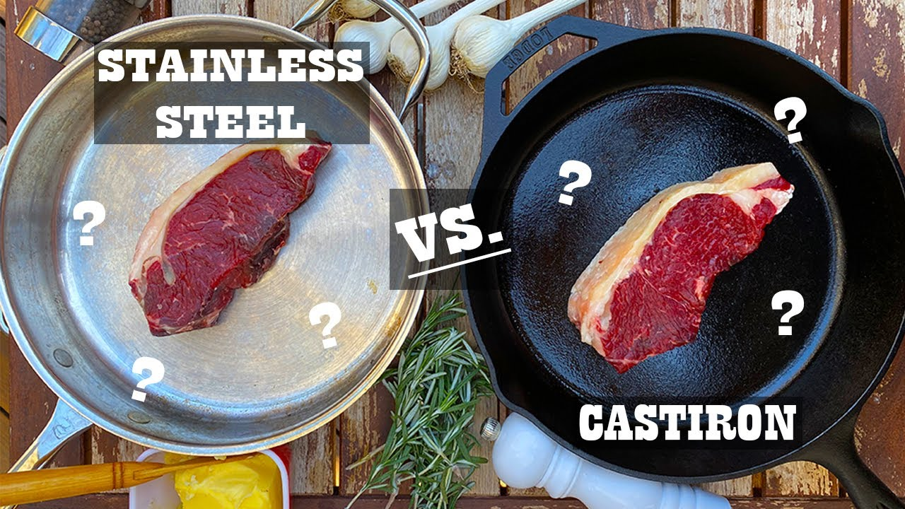 Cast Stainless Steel vs Cast Iron