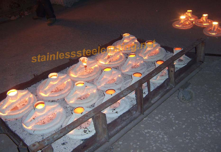 Casting of Stainless Steel Back-Up Flanges