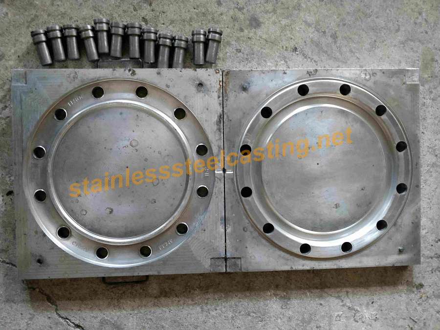 Mold of Cast Stainless Steel Back-Up Flanges